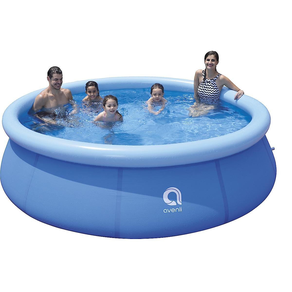Ilmalla täytettävä uima-allas 3 m