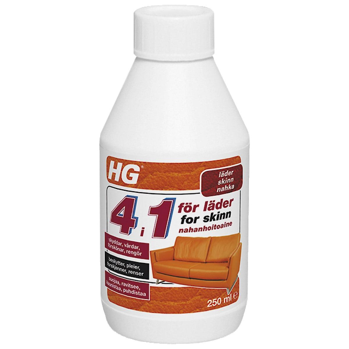 Lädervård 4 i 1 HG
