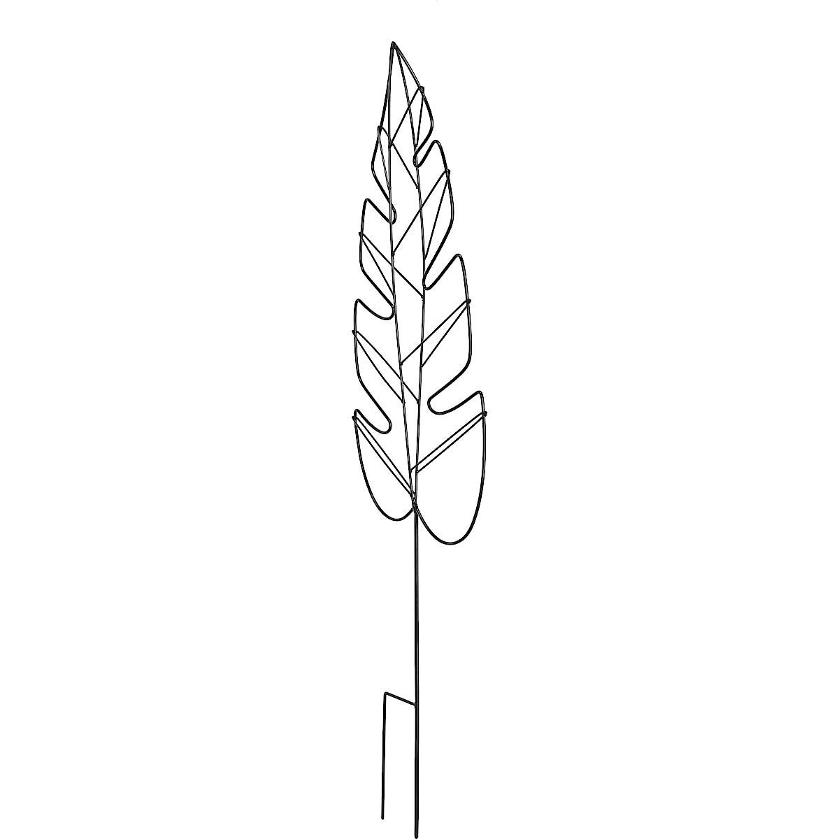 Plantestøtte Løvformet, 118 cm