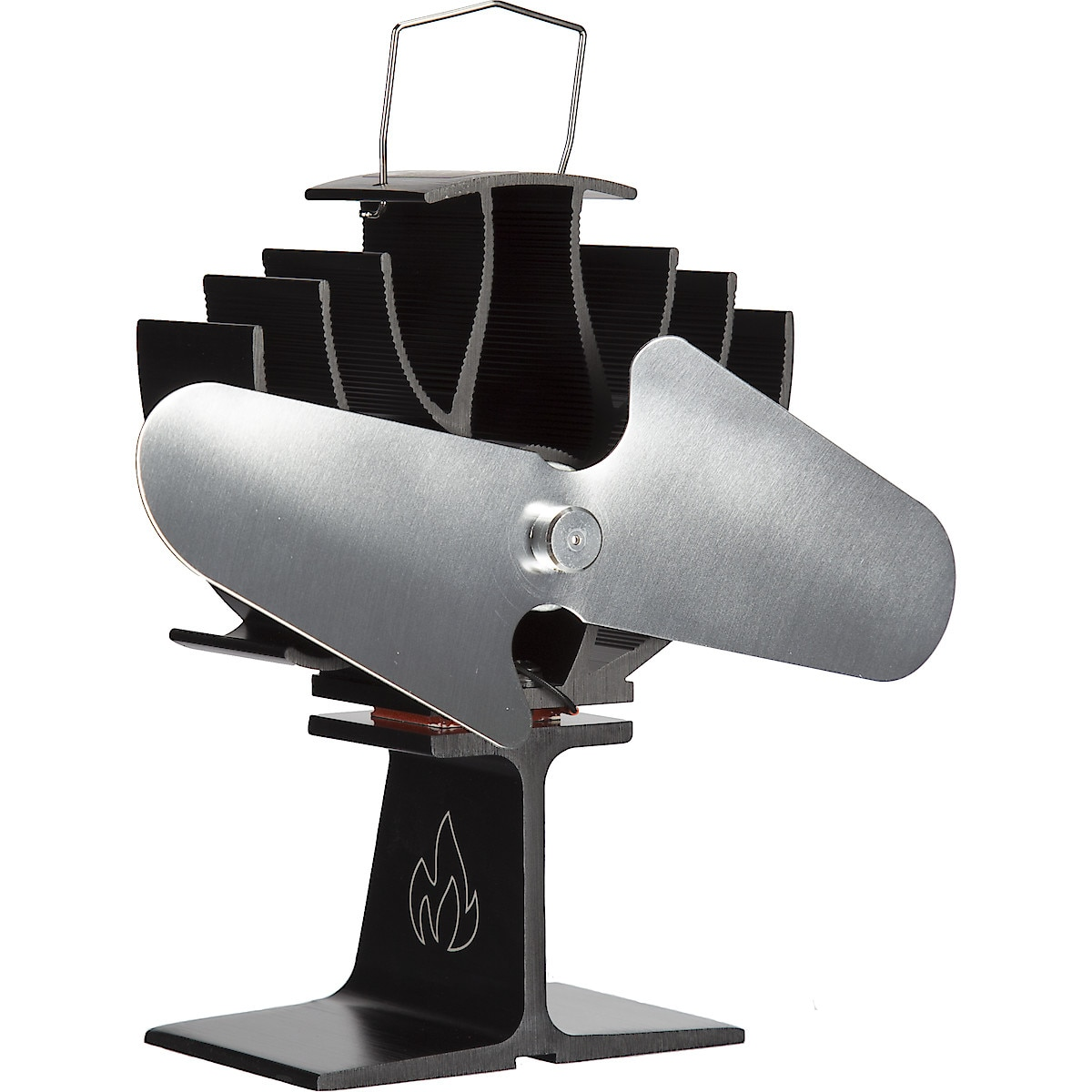 2-Blade Heat Powered Stove Fan