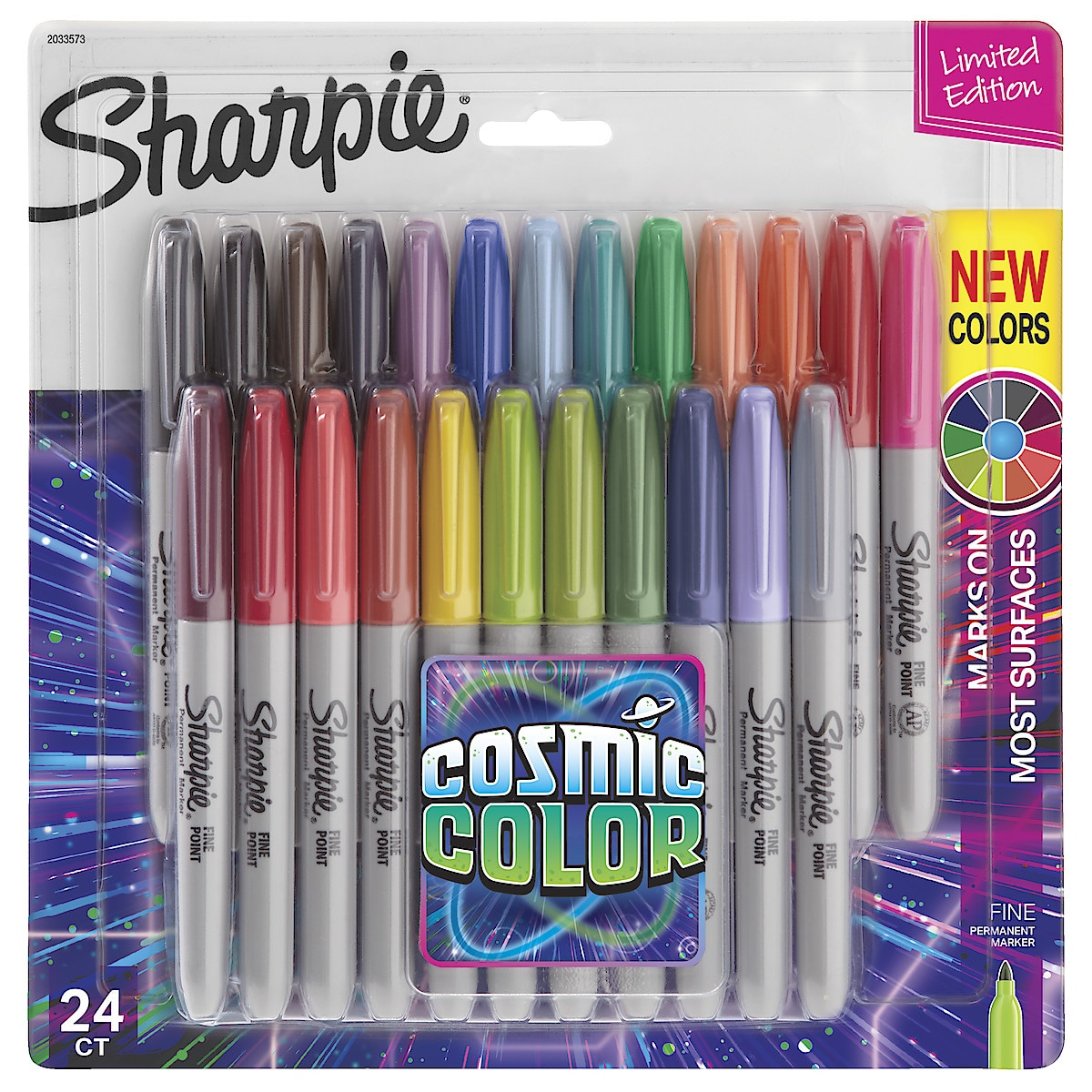 Sharpie Cosmic Fine Permanent Markers 24-pack