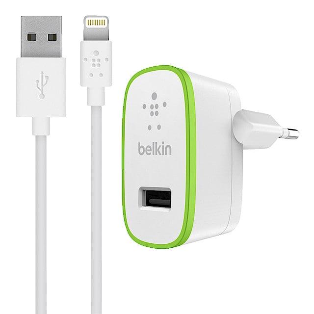 Laddare Lightning för iPodiPhoneiPad, Belkin | Clas Ohlson