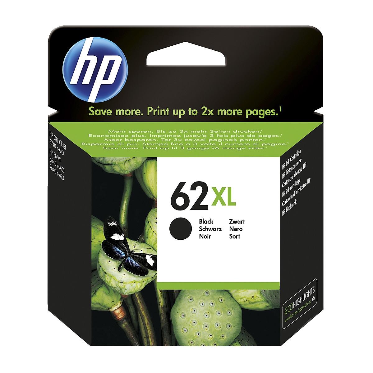Bläckpatron HP 62