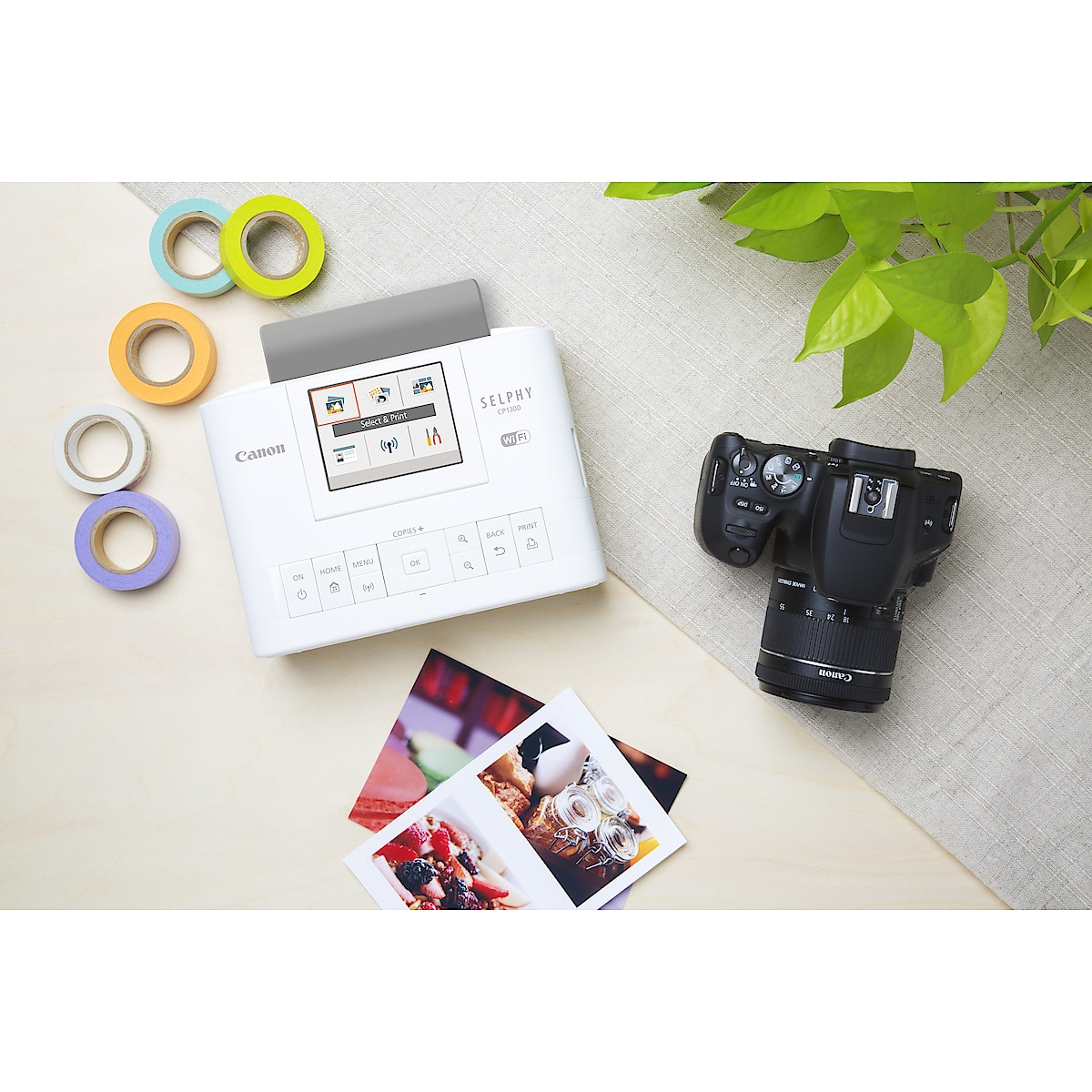 Canon Selphy CP1300 trådløs fotoskriver