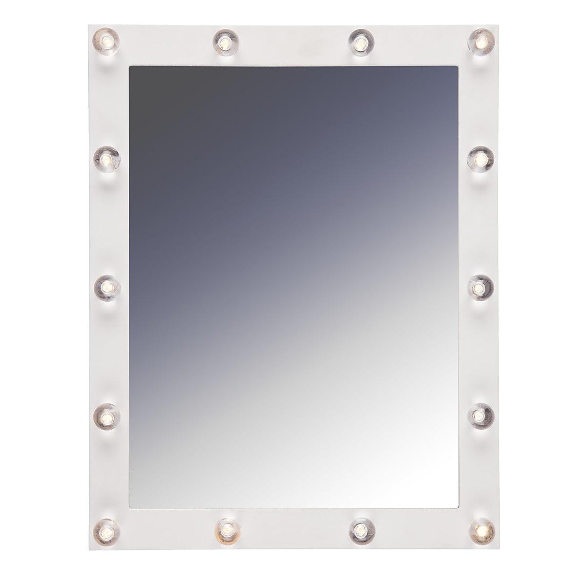 Spegel med dekorativ LED-belysning Northlight