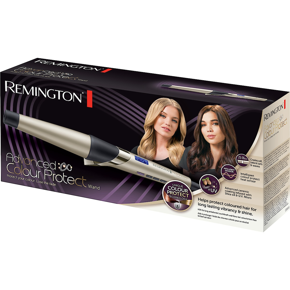 Locktång Remington Advanced Colour Protect Wand CI86X5