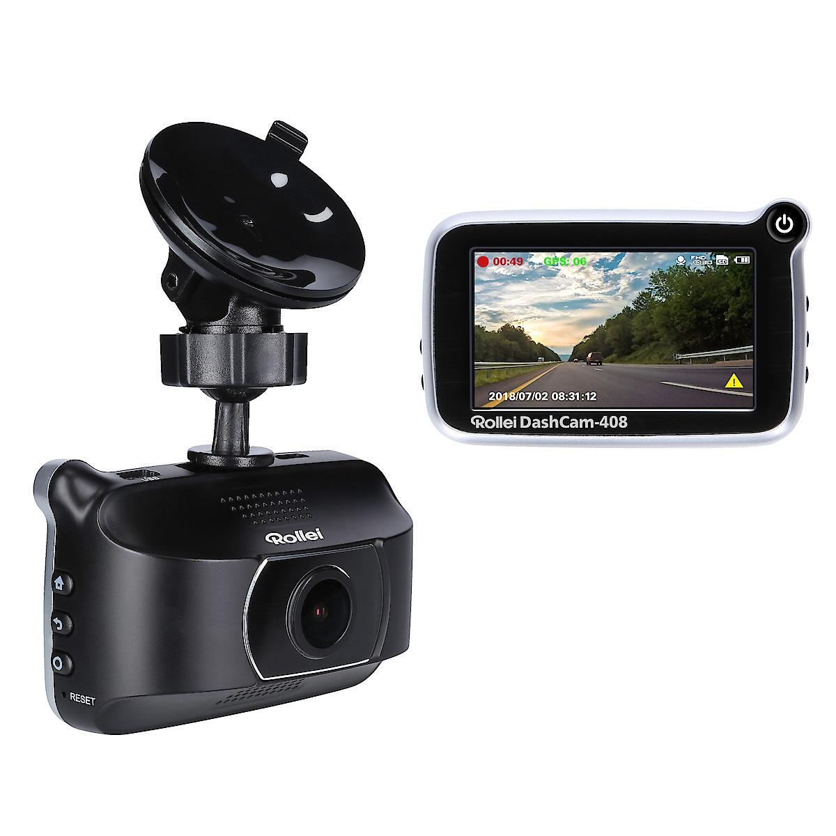 Kojelautakamera Rollei Dashcam 408