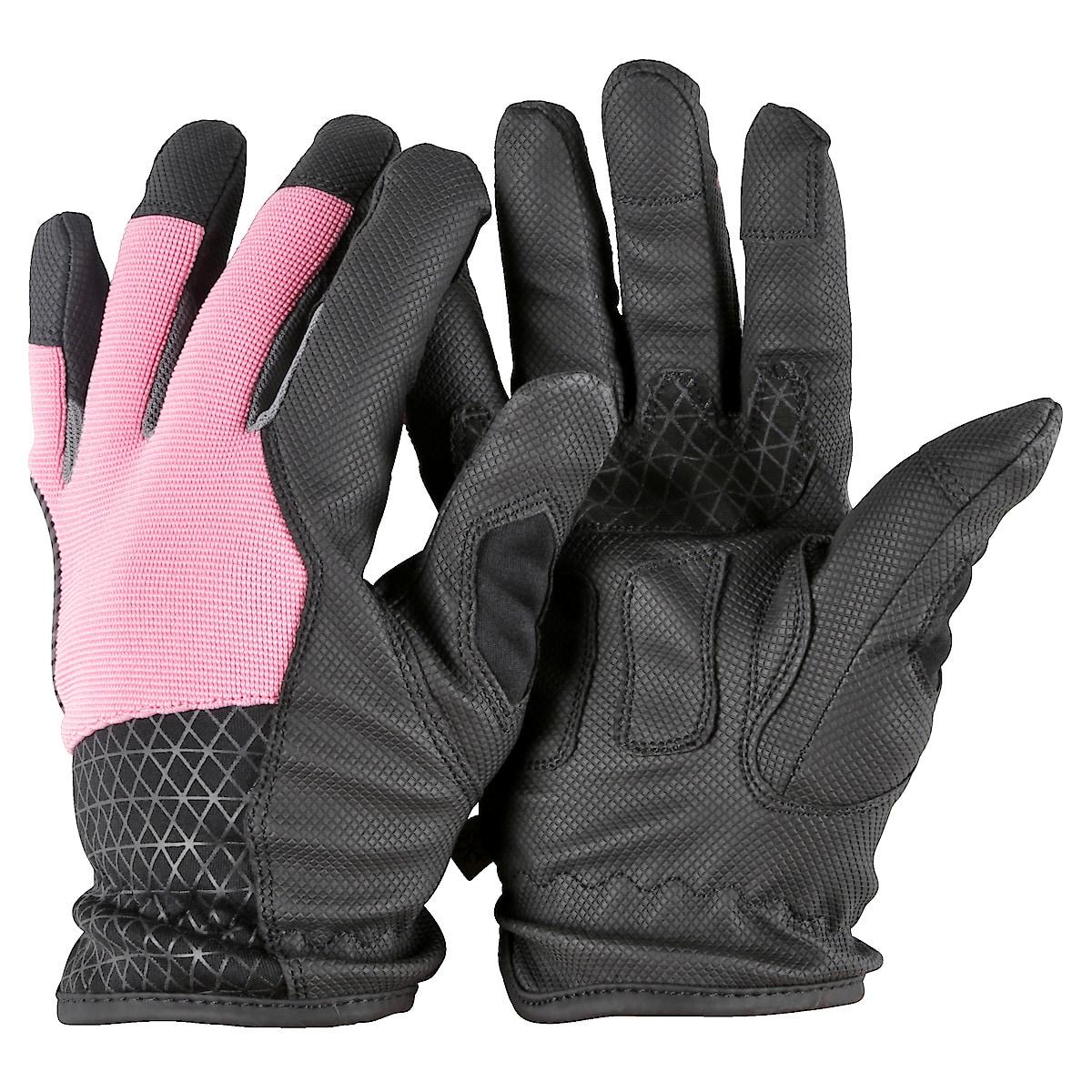 Arbeitshandschuhe Winter, Signalfarbe rosa