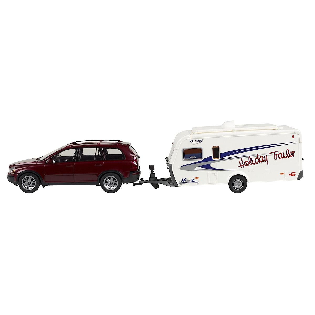 Holiday Trailer, bil med campingvogn