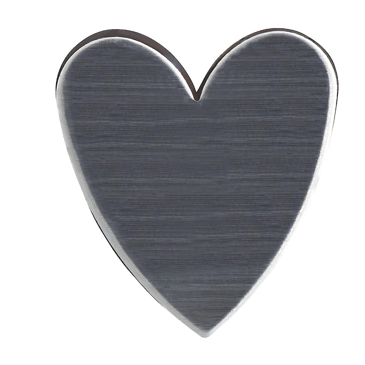 Hushållsmagnet hjärta/kryss