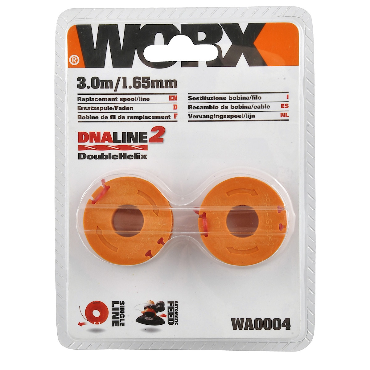 Worx WA004 Trimmer Line and Spool
