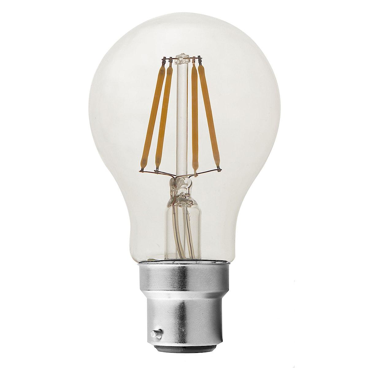 Clas Ohlson B22 Dimmable LED GLS Bulb