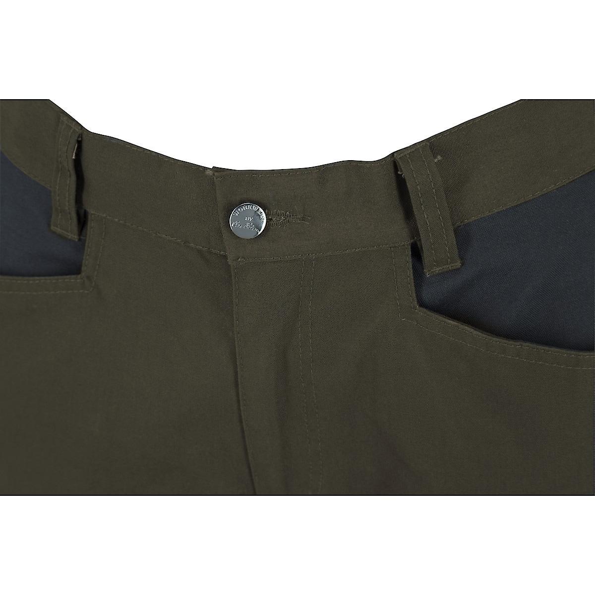 Arbetsbyxor stretch, grön/svart