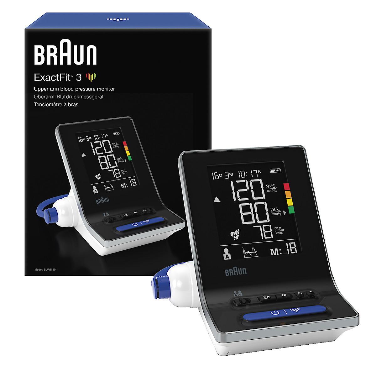 Blodtrycksmätare Braun ExactFit 3, BUA6150