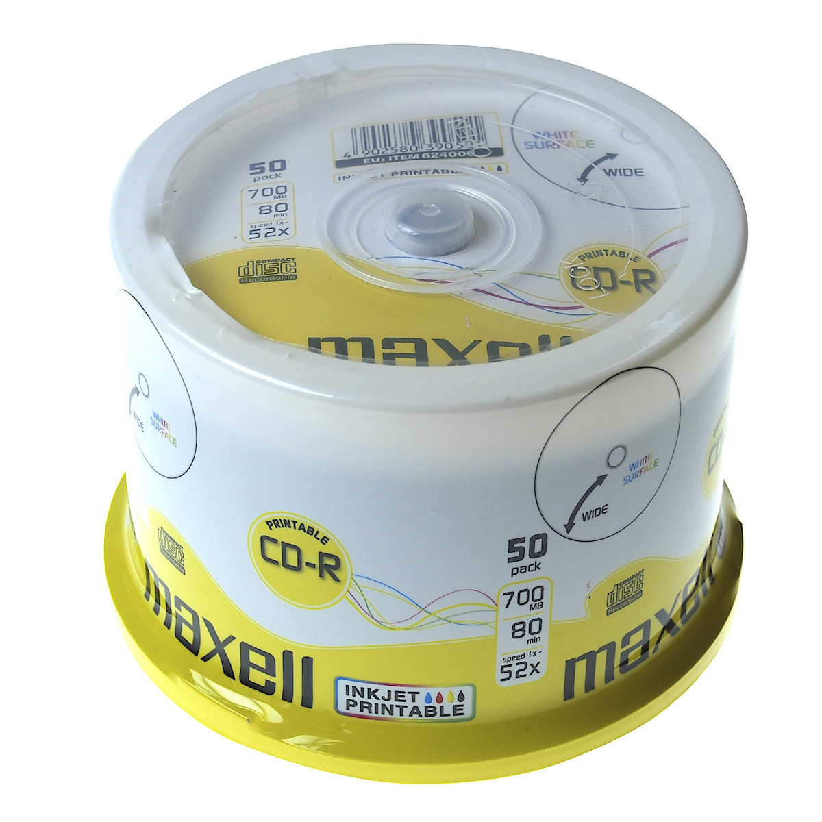 Maxell CD-R 700 MB Cake Box