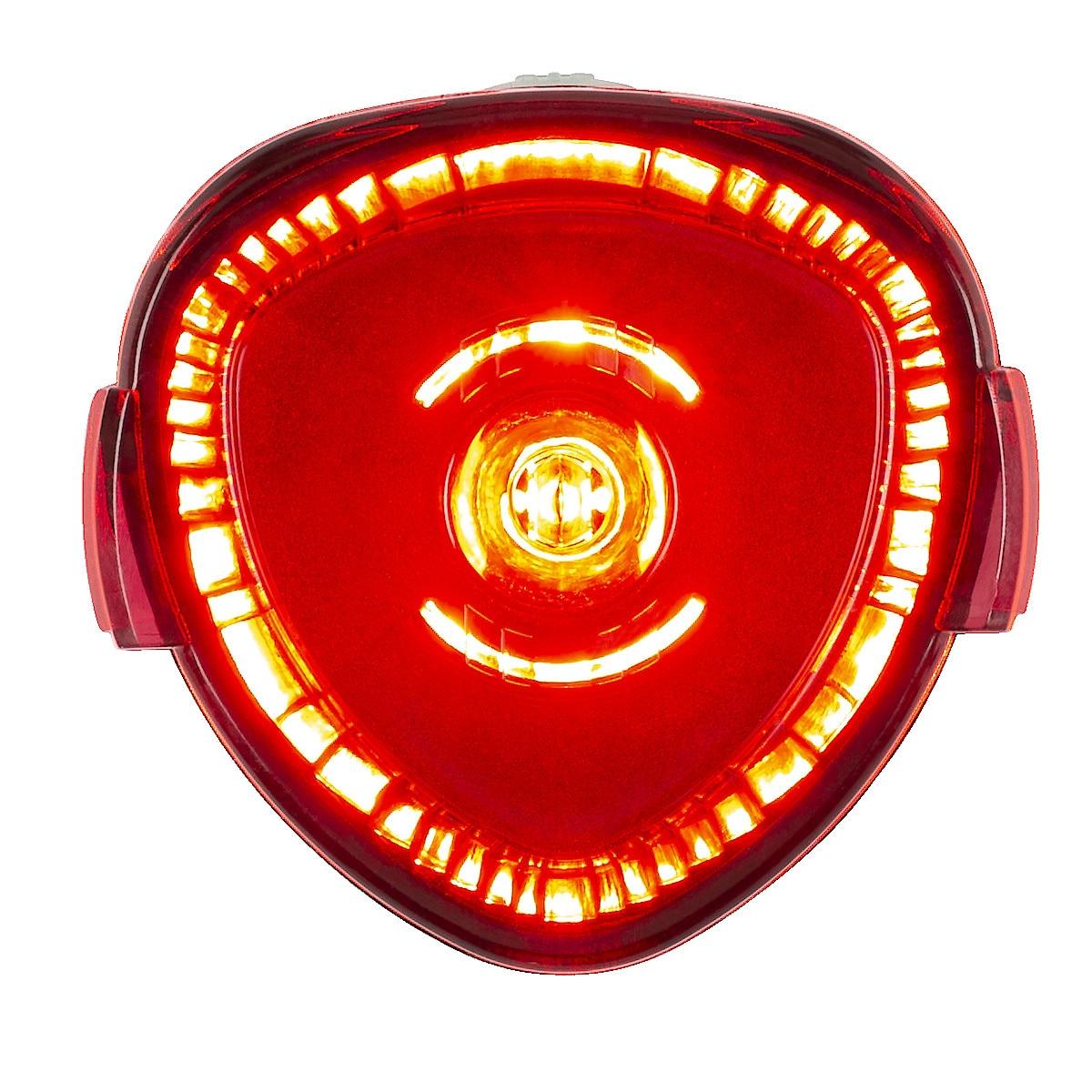 Polkupyörän LED-takavalaisin Asaklitt