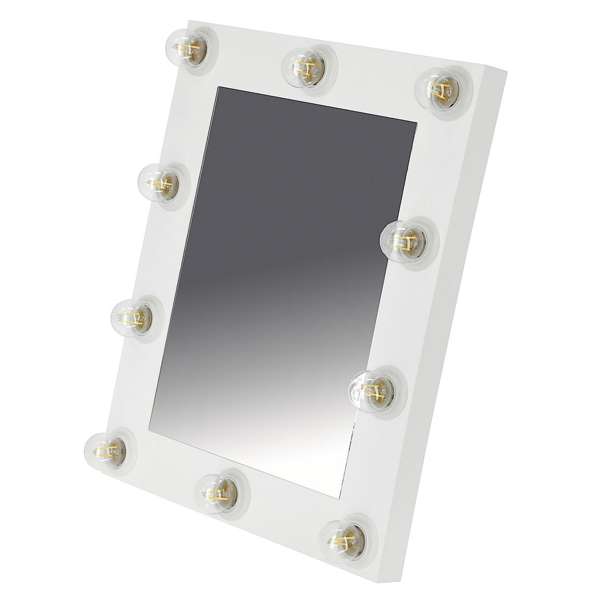Spegel med belysning Northlight