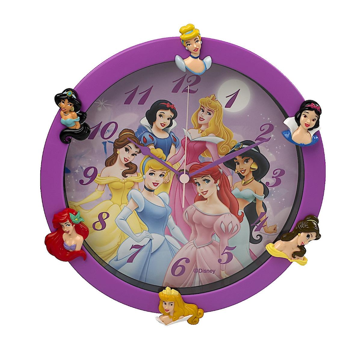 Väggklocka Disney Princess