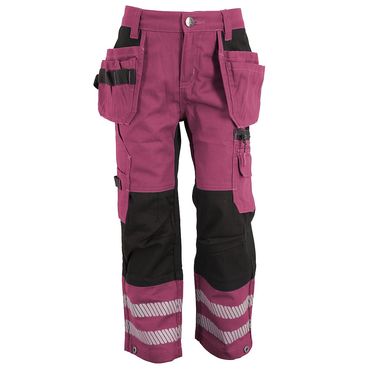 Arbetsbyxa barn, rosa