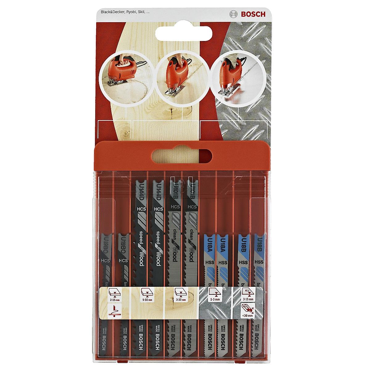 Sticksågsblad Bosch sortiment
