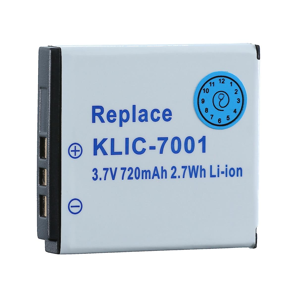 Batteri KLIC-7001 til Kodak