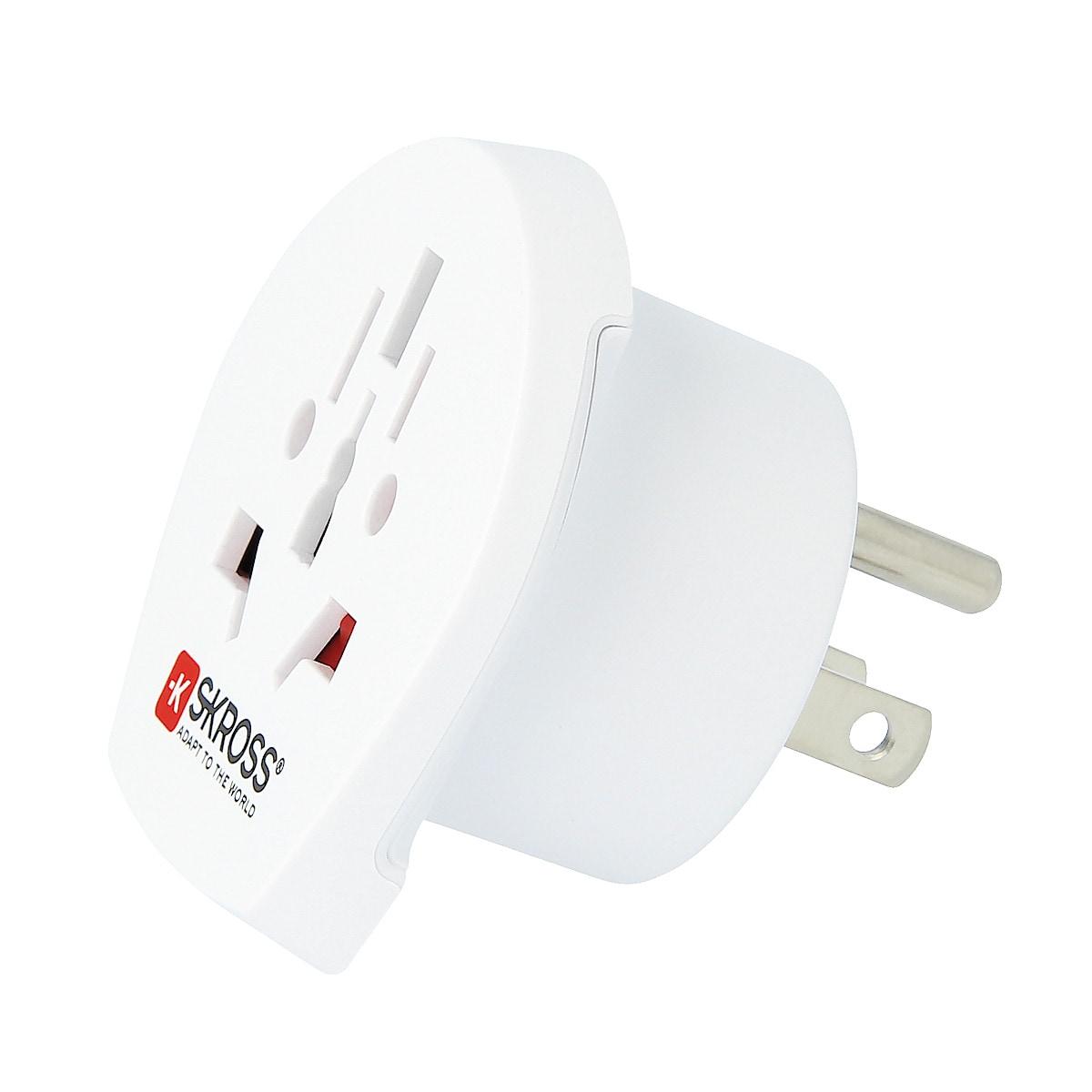 SKROSS World to USA Travel Adaptor Plug