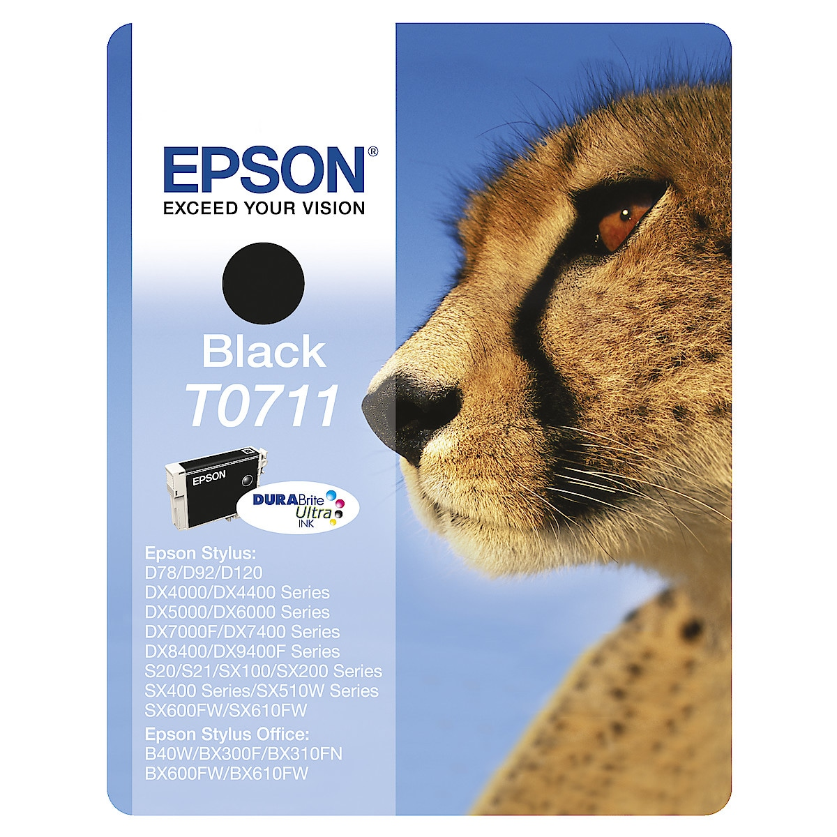 Epson T0711 to T0715 Ink Cartridge