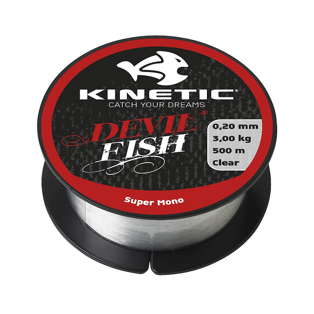 Fiskelina Kinetic Devil Fish Super Mono Clear