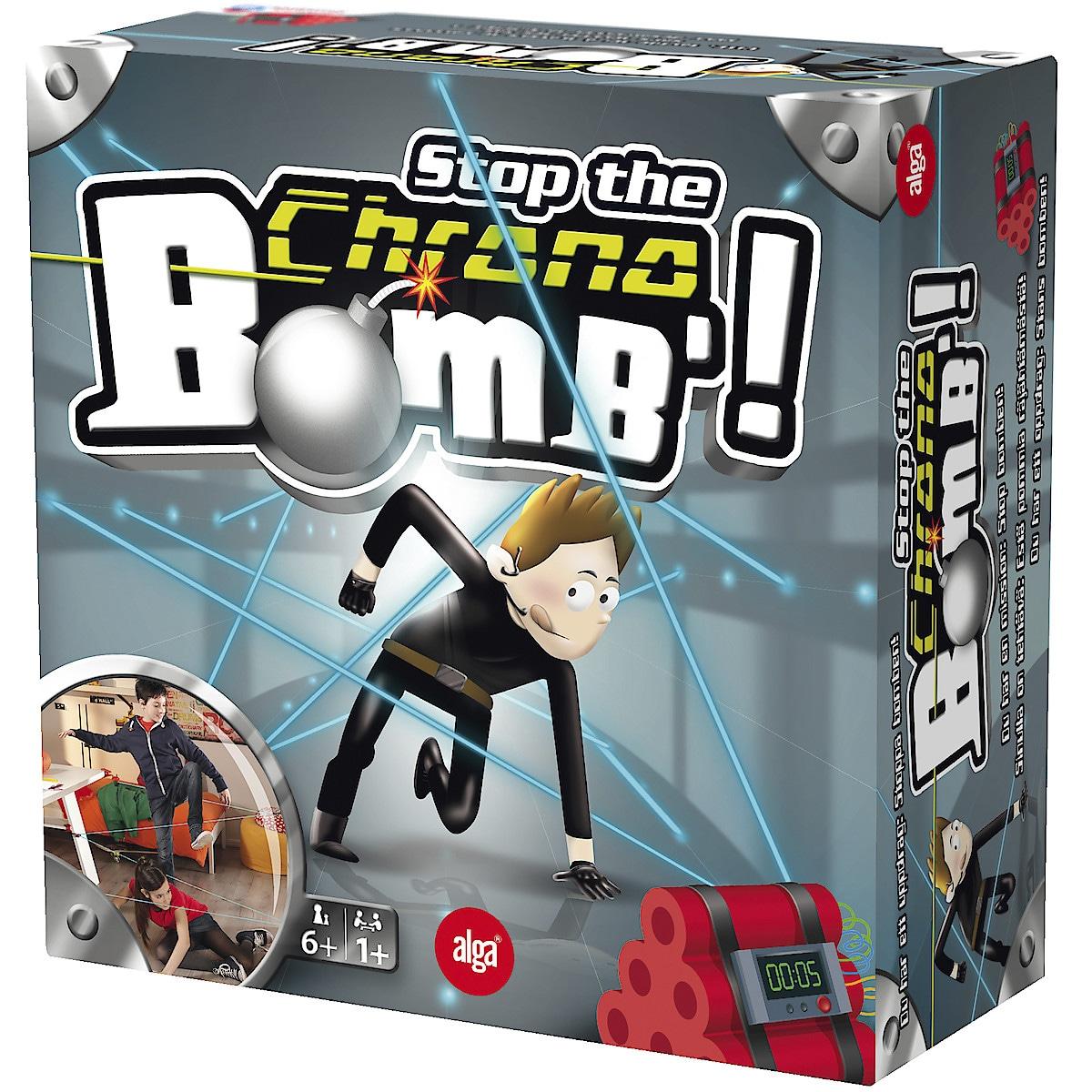 Alga Stop the Chrono Bomb