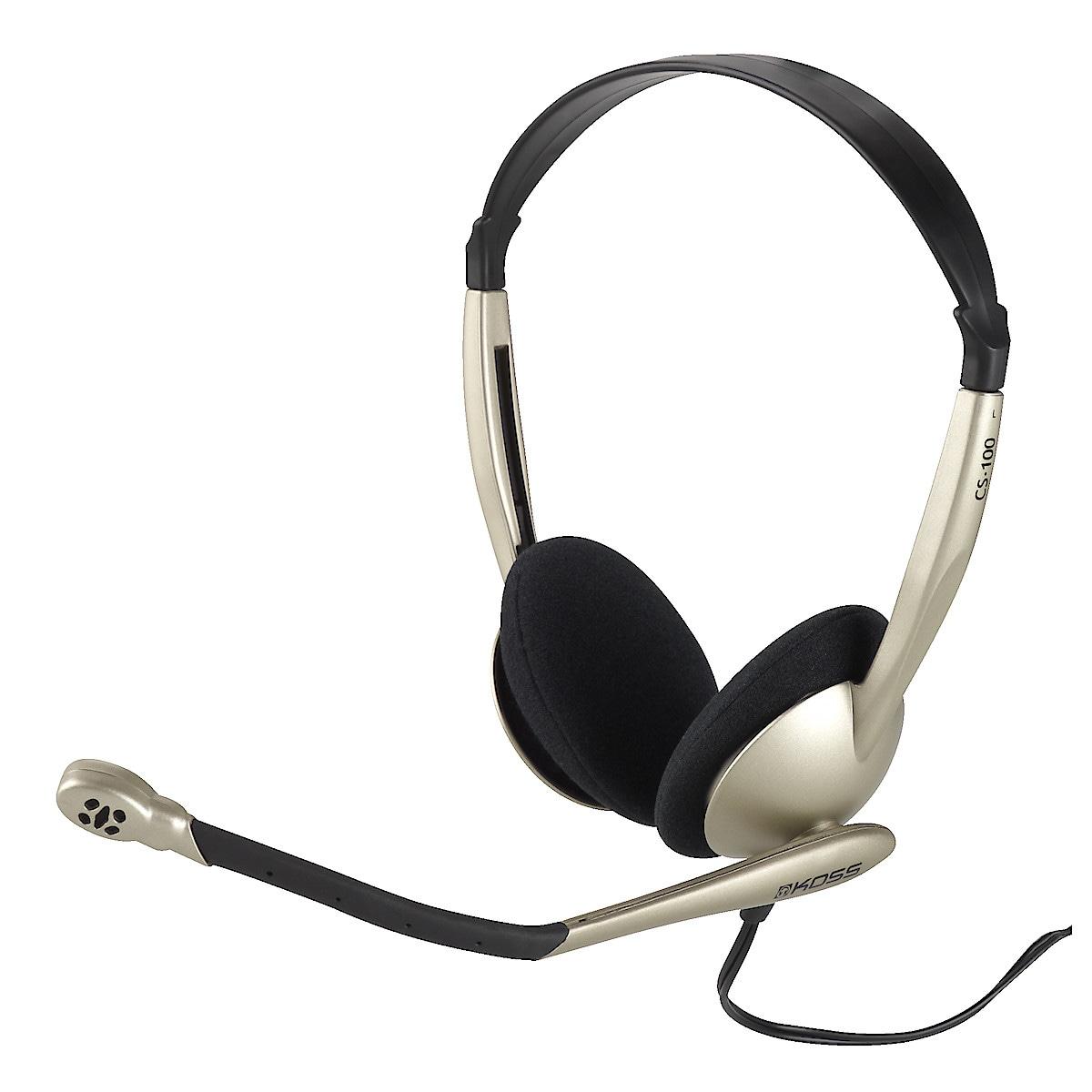Kuulokemikrofoni Koss CS100