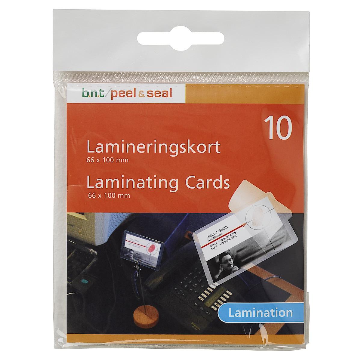 Laminat för kallaminering10-pack