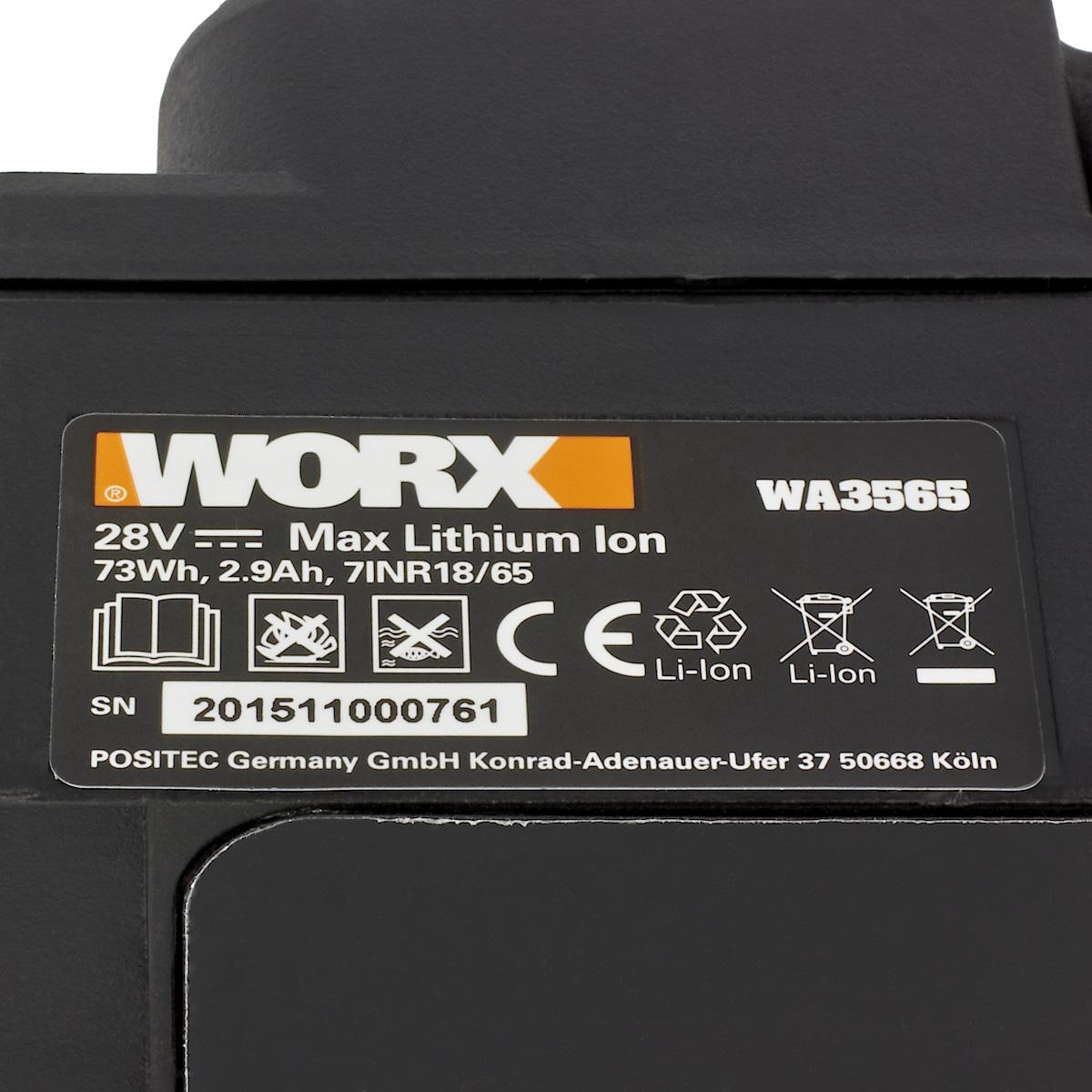 Batteri Worx Landroid WA3565