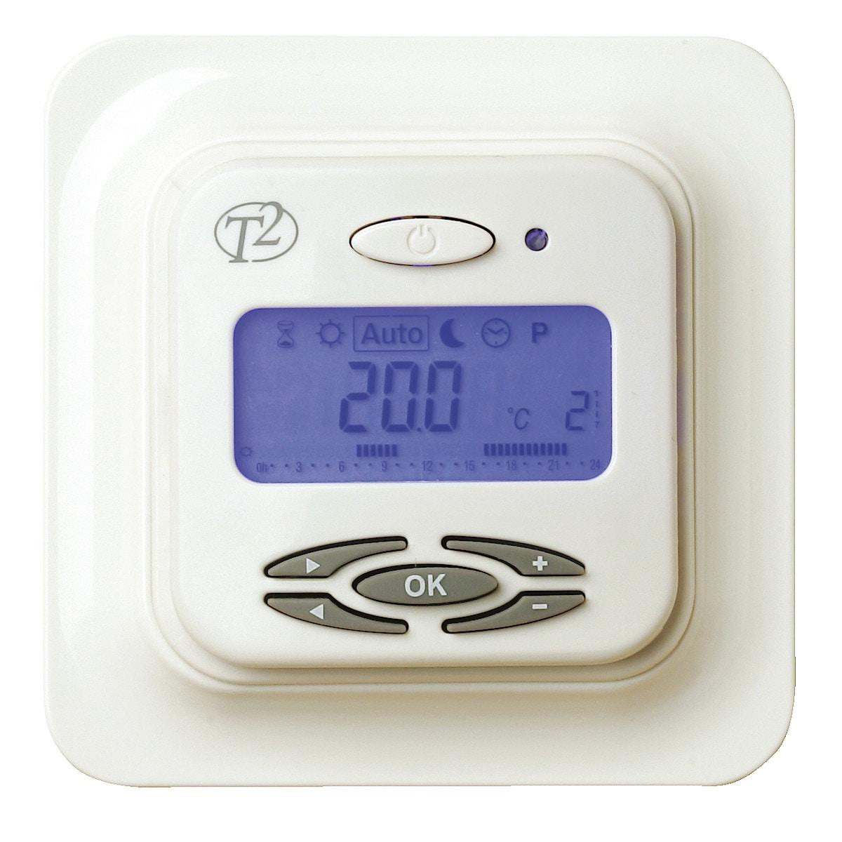 Termostaatti T2DigiTemp Plusº lattialämmitykseen