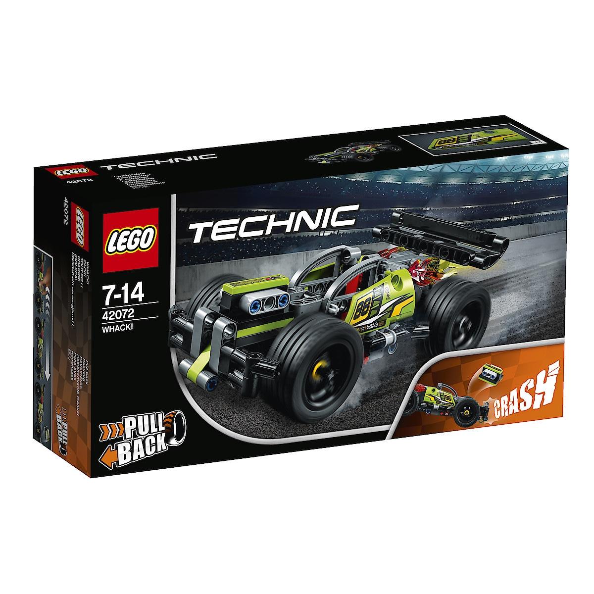 LEGO Technic 42072, Whack!