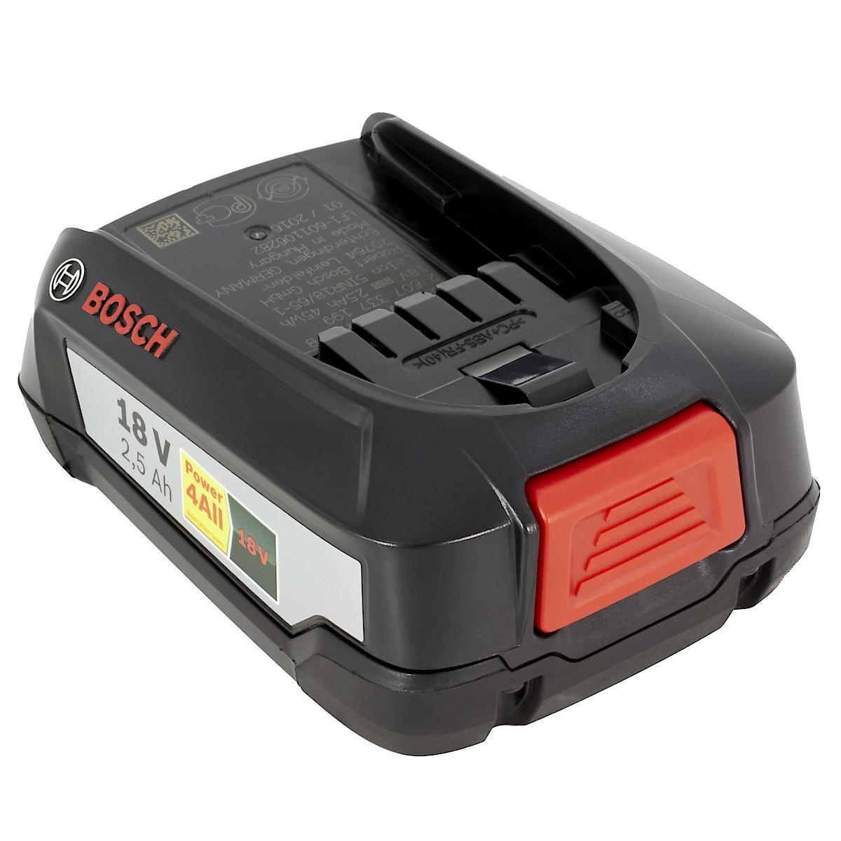 Akku Bosch 18 V/2,5 Ah LI