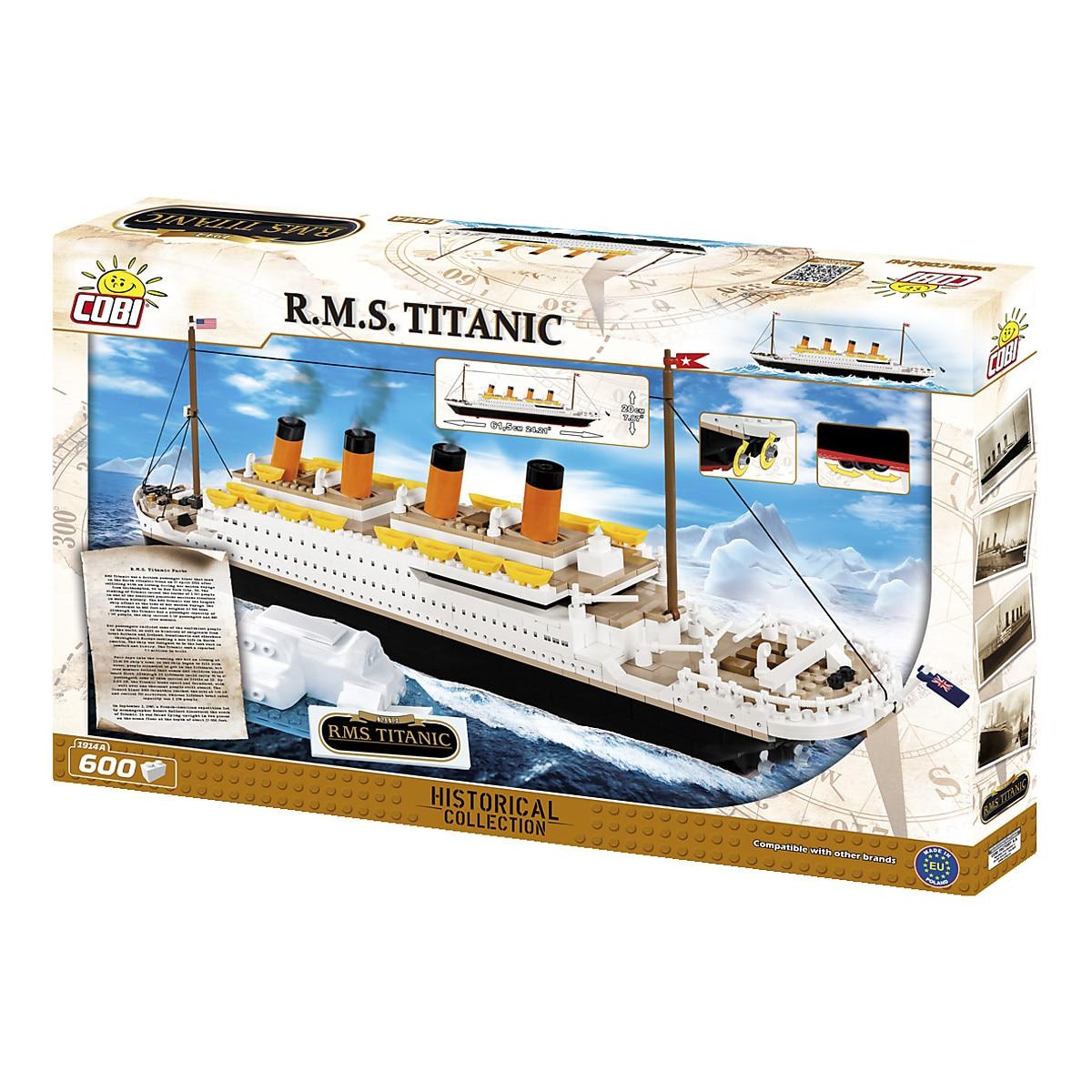 Byggklossar R.M.S. Titanic, Cobi