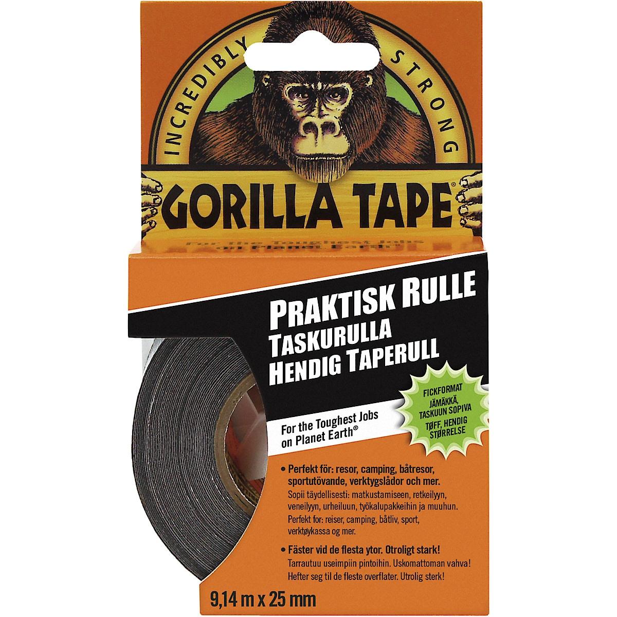 Ilmastointiteippi Gorilla Handy Roll
