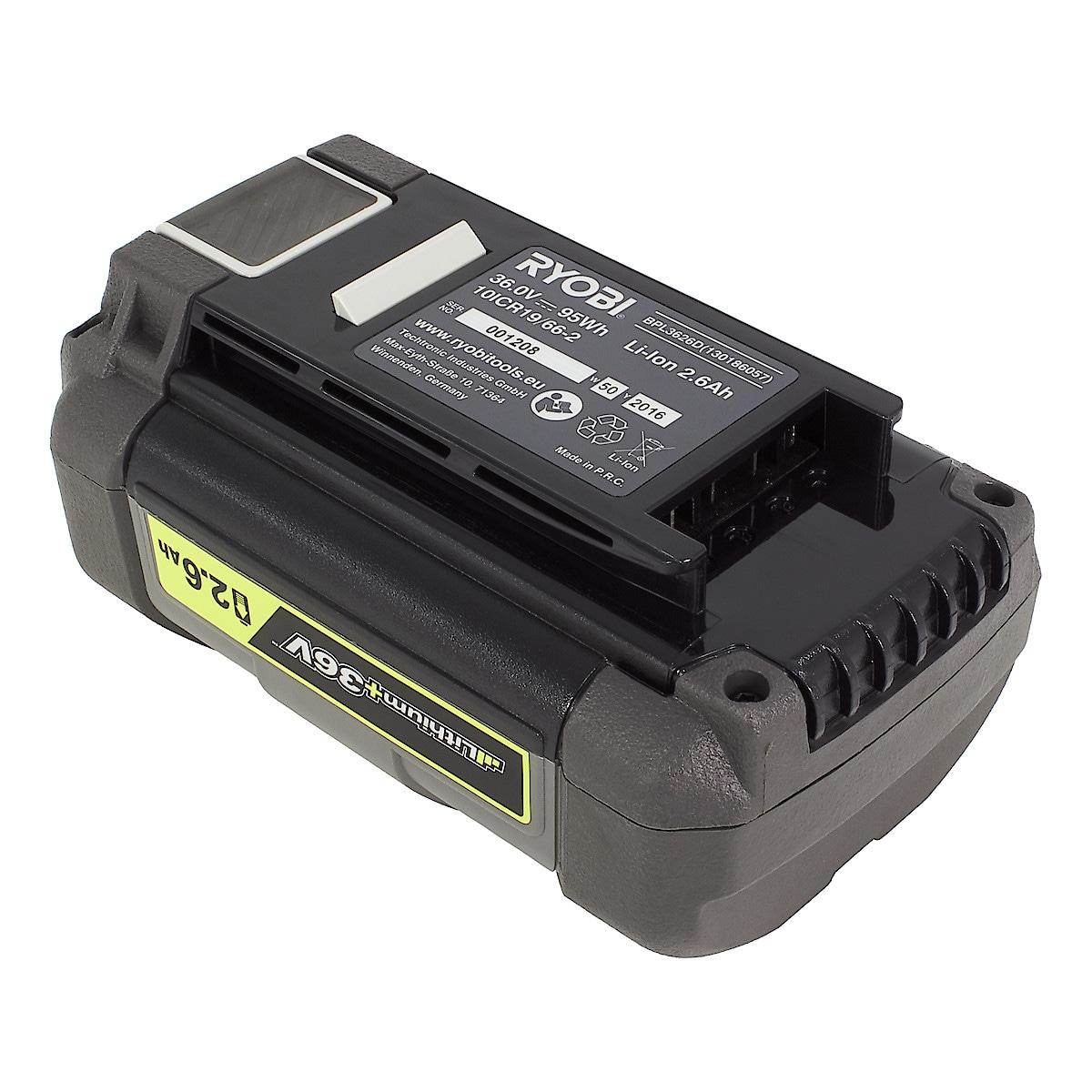Ryobi BPL3626D batteri 36 V