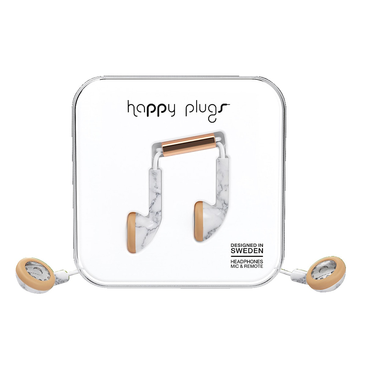 Kuulokkeet ja mikrofoni Happy Plugs Earbud Unik Edt