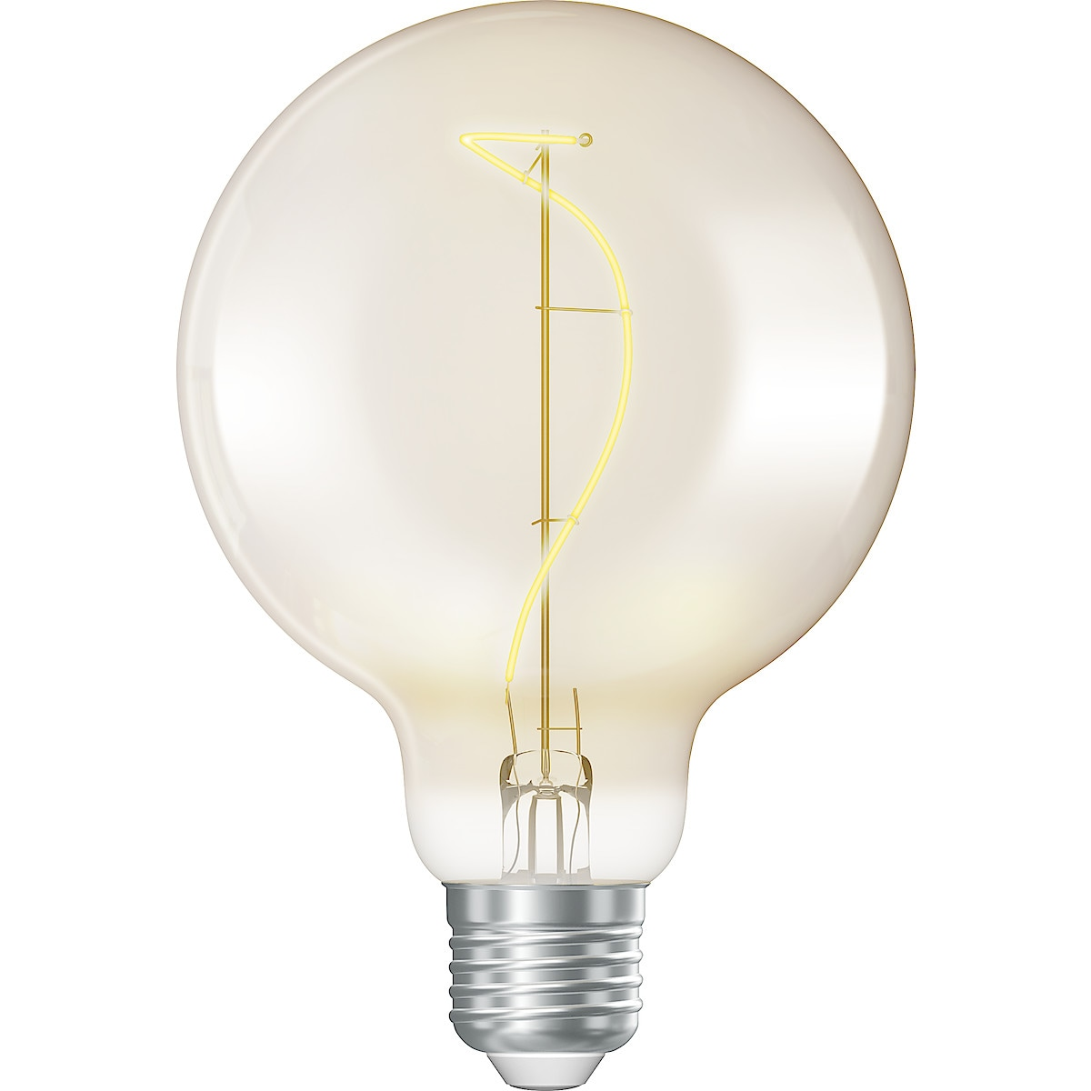 Dekorationslampa LED Glob E27 Röktonad Northlight