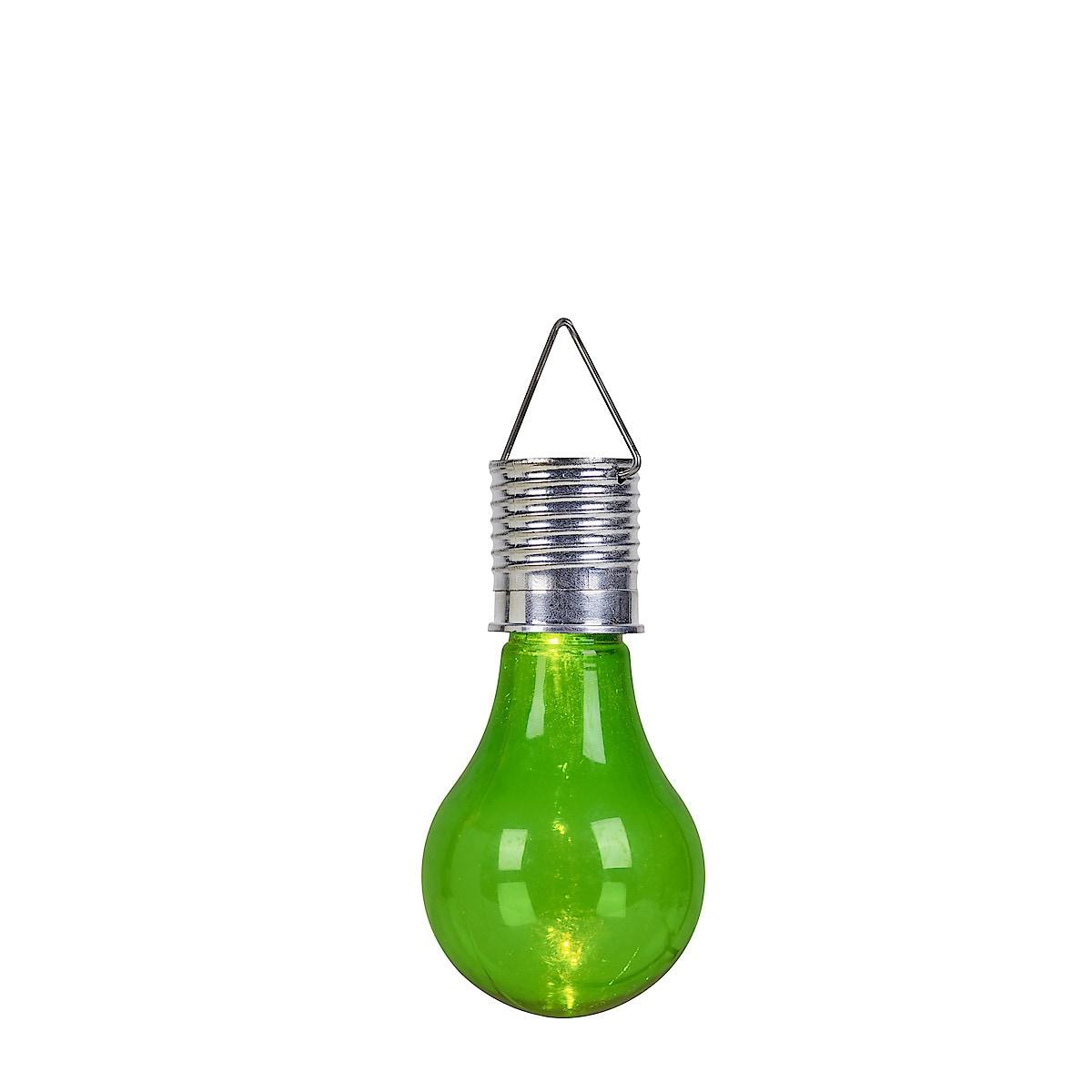Hängande lampa med solcell