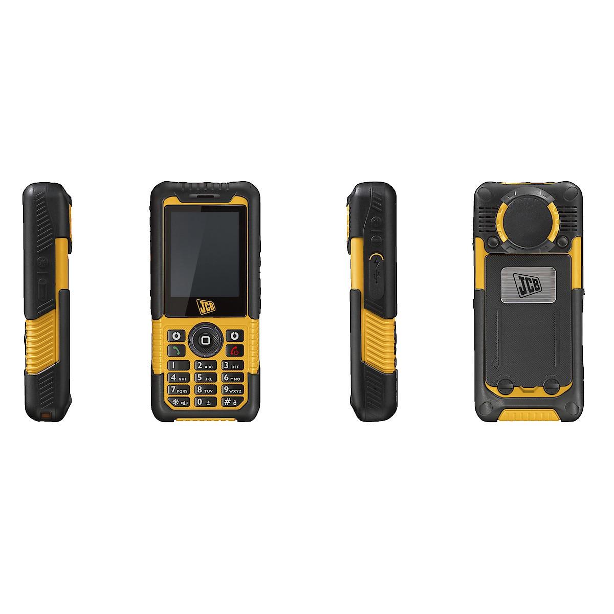 JCB Toughphone Sitemaste mobiltelefon