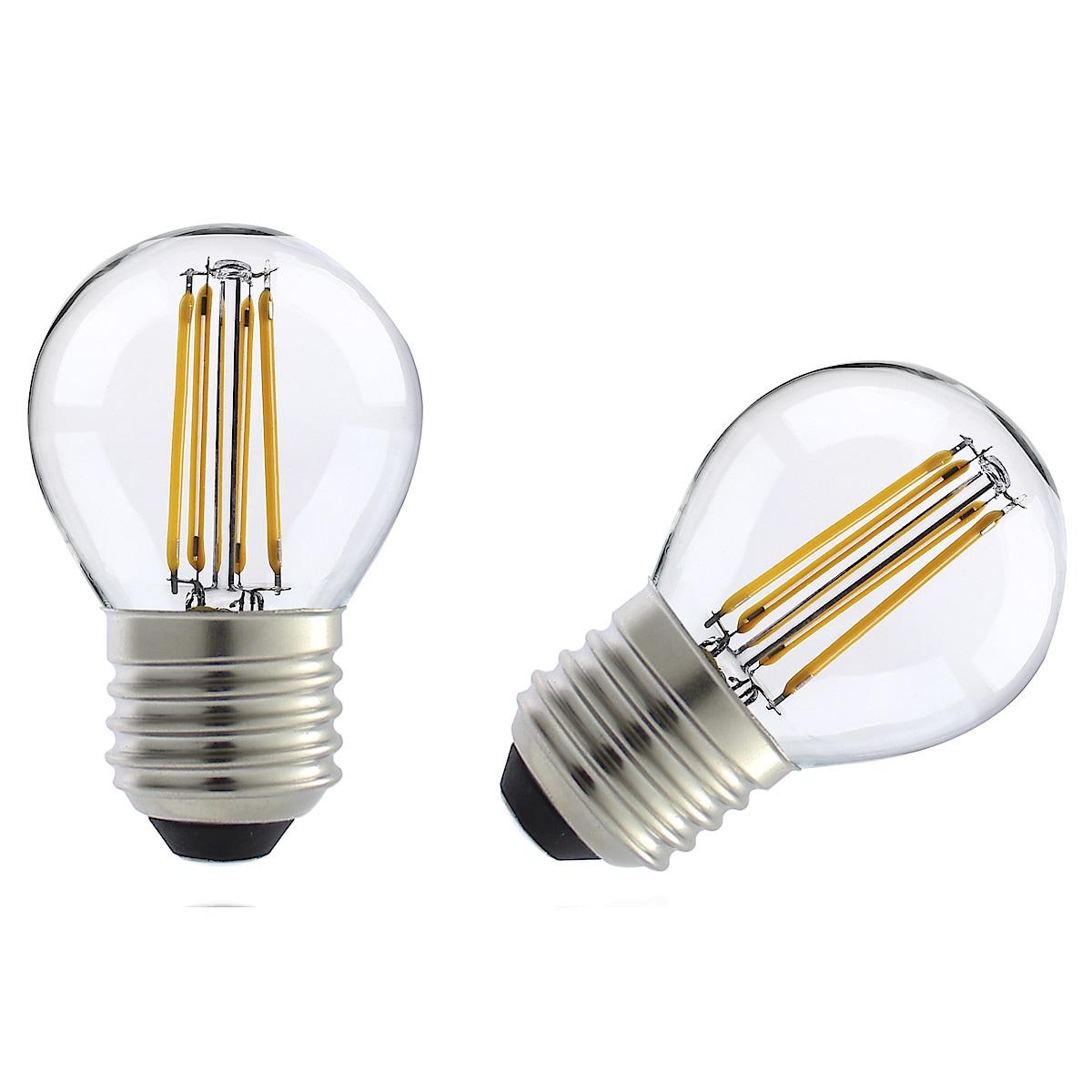 Himmennettävä pyöreä LED-lamppu E27 Clas Ohlson