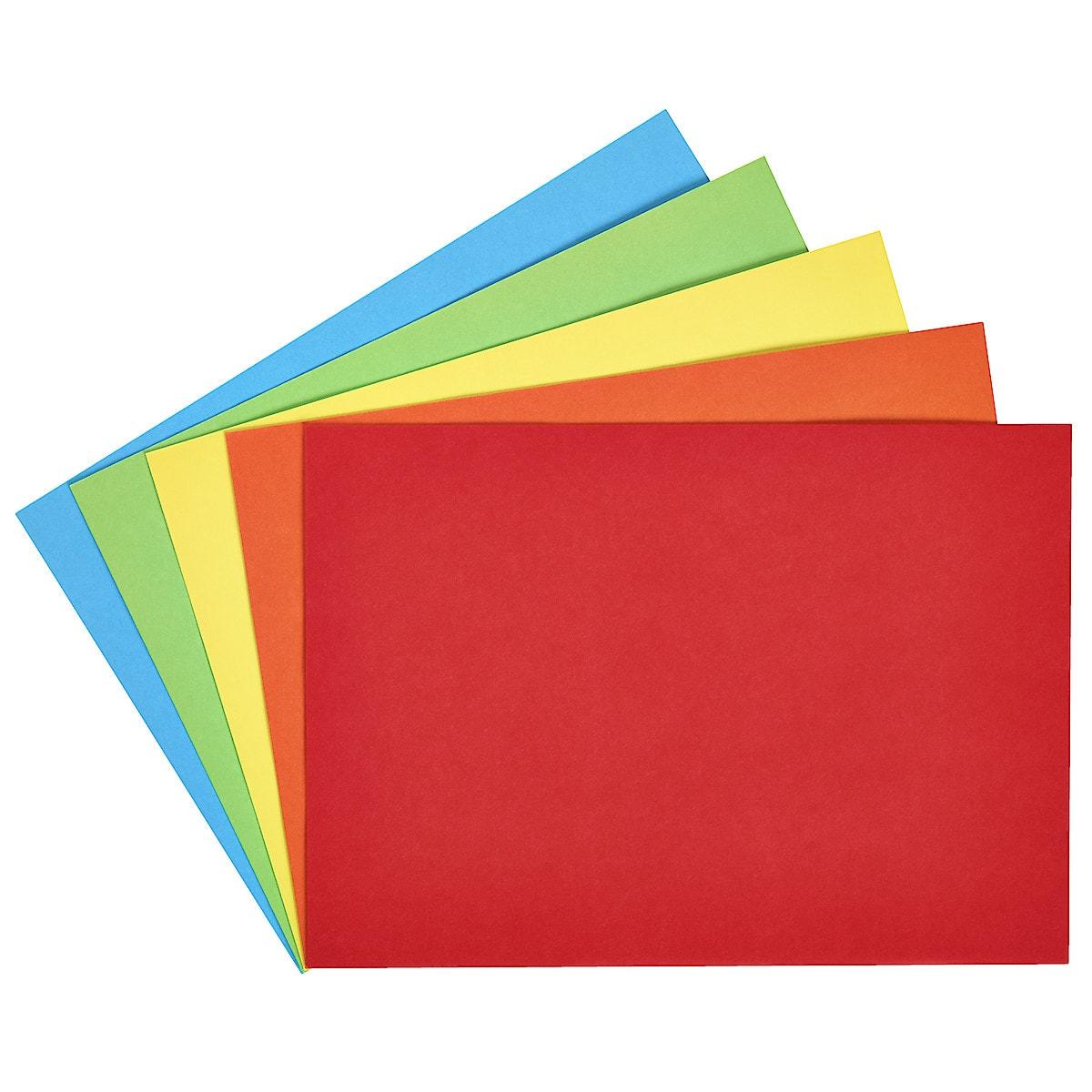 Kuvert C5, färgade, 20-pack