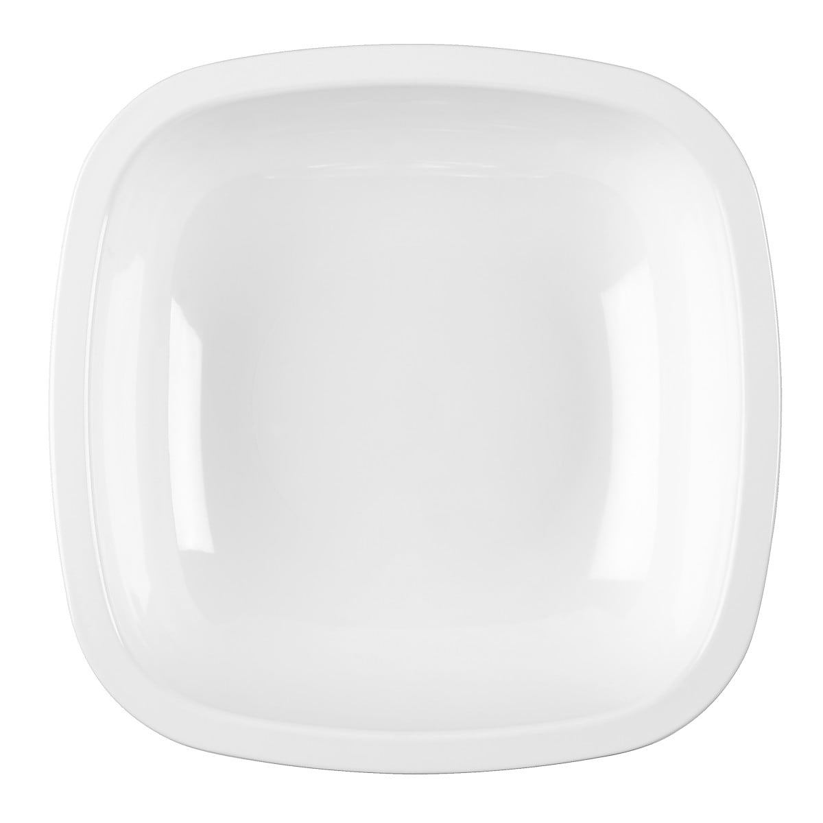 Plasttallrik djup  18 cm