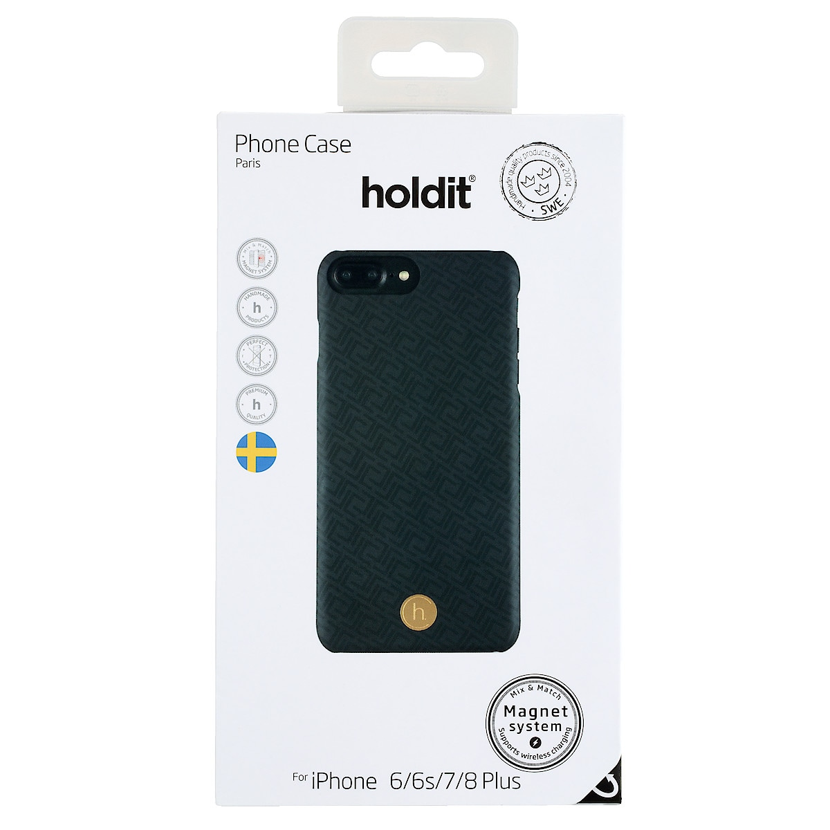 Holdit mobildeksel for iPhone 8 Plus