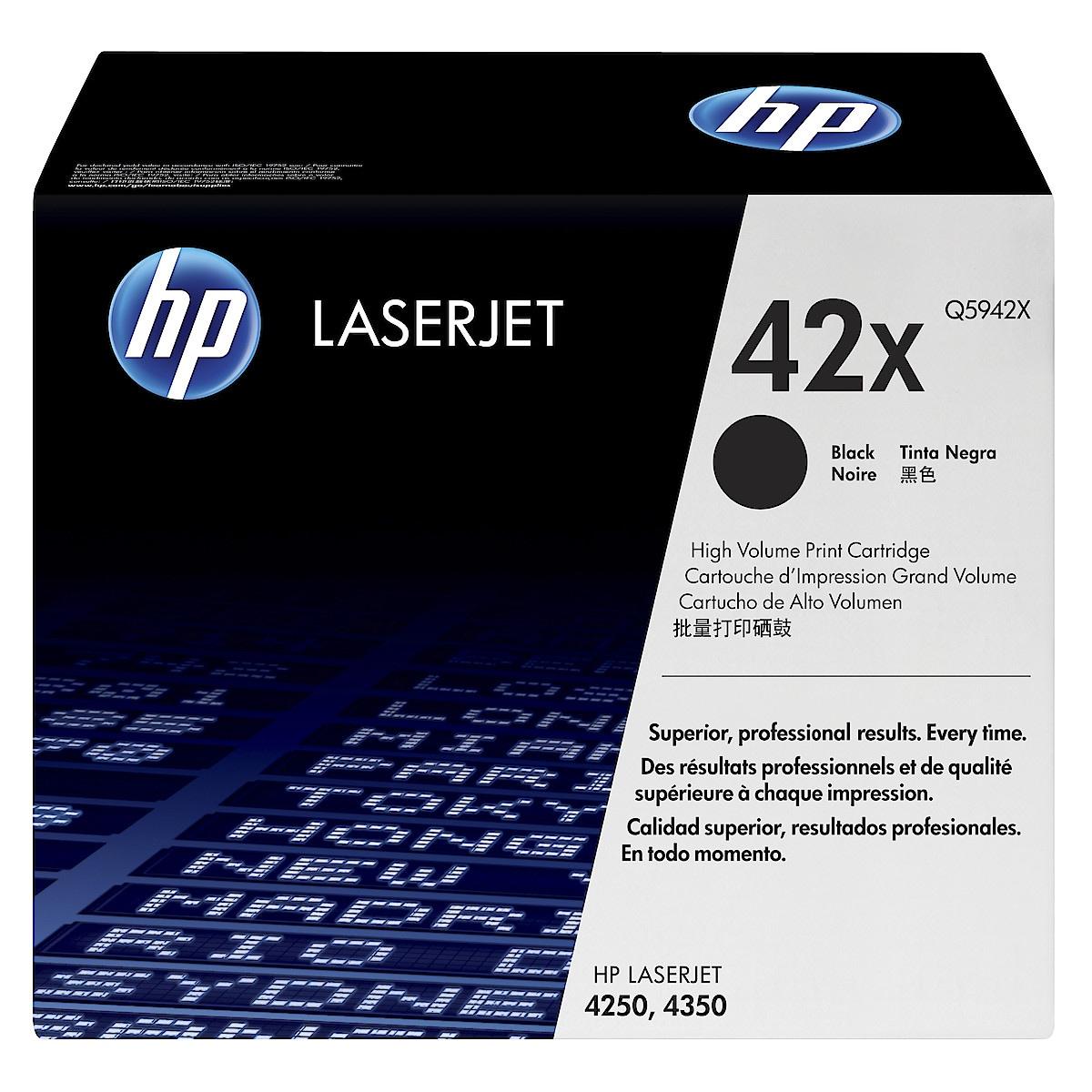 Toner for laserskrivere HP Q5942X
