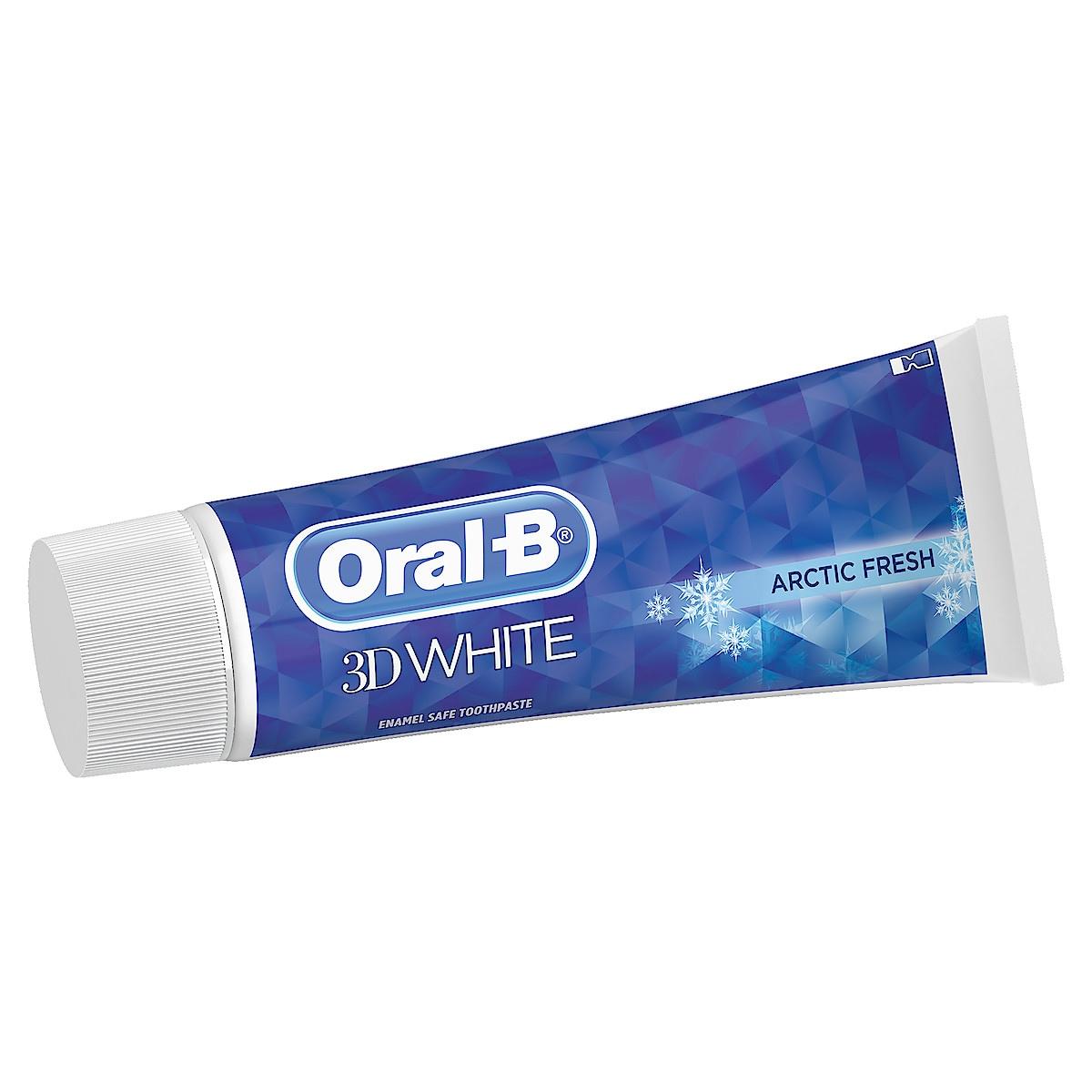 Tandkräm Oral-B 3D White Arctic Fresh