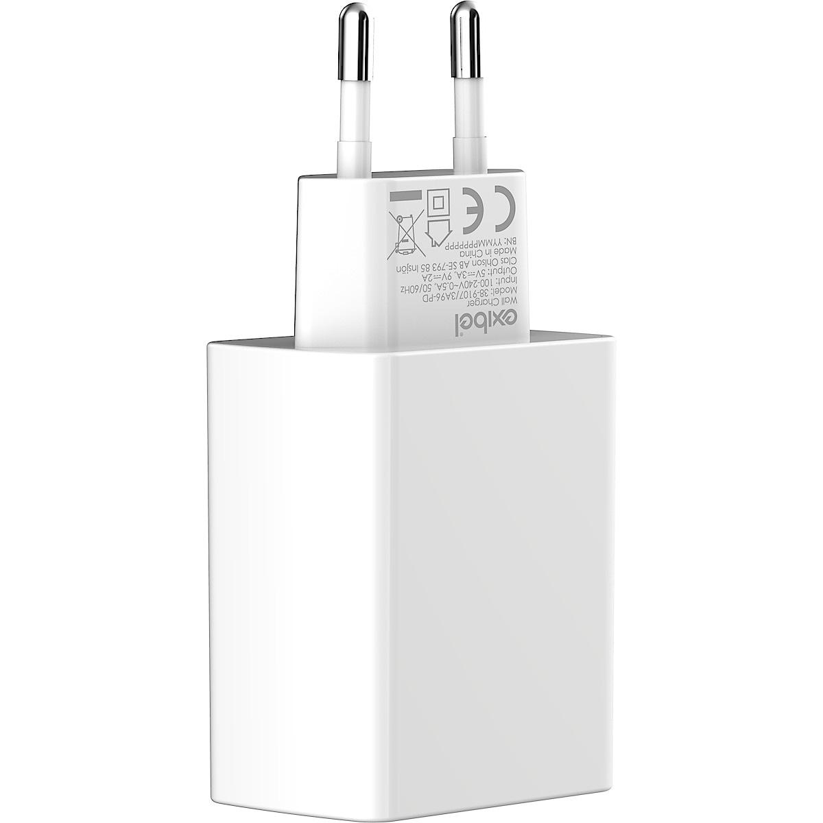 Laturi USB-C 18 W Exibel