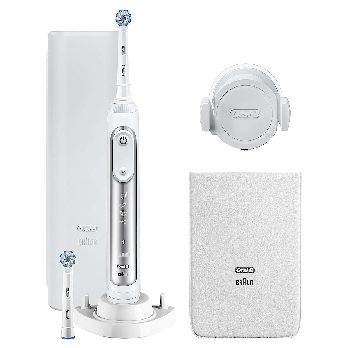 Oral-B Genius 8600 Silver, eltannbørste